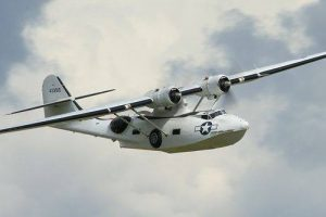 PBY Catalina in flight