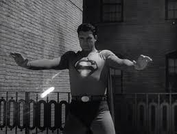 Superman shows The Mole Men he's invulnerable