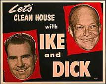 Clean House With Ike and Dick Poster