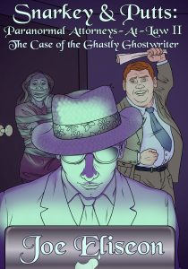 Snarkey & Putts: Case of the Ghastly Ghostwriter Cover