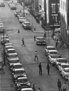 Stickball NYC 1960