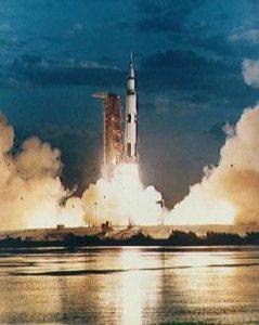 Saturn V Liftoff - NASA