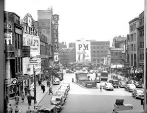Boston's Scollay Square During The Depression