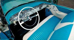 Interior of 1955 Oldsmobile 88