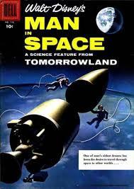 Disney Man in Space Comic Cover