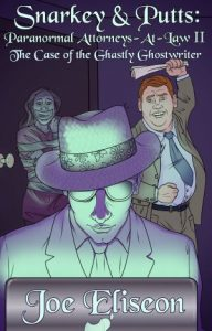 The Case of the Ghastly Ghostwriter Cover